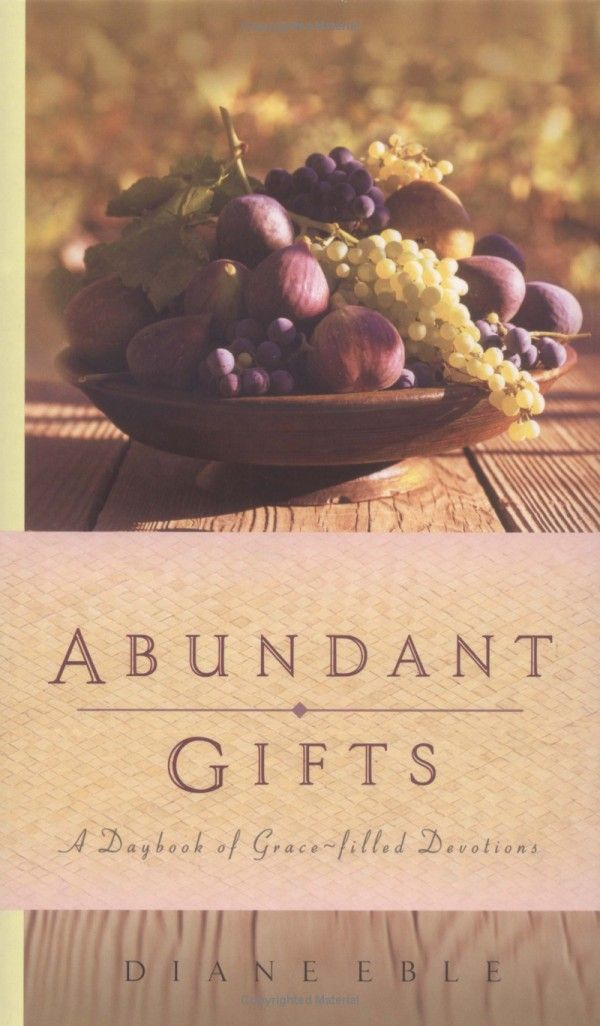 abundant gifts second edition